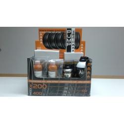 Pack3 Airbox (1 airbox G200+1 airbox G400+2 chemical 250 ml+4 chemical 500 ml+1 aria 200 ml+1 aria 400 ml)